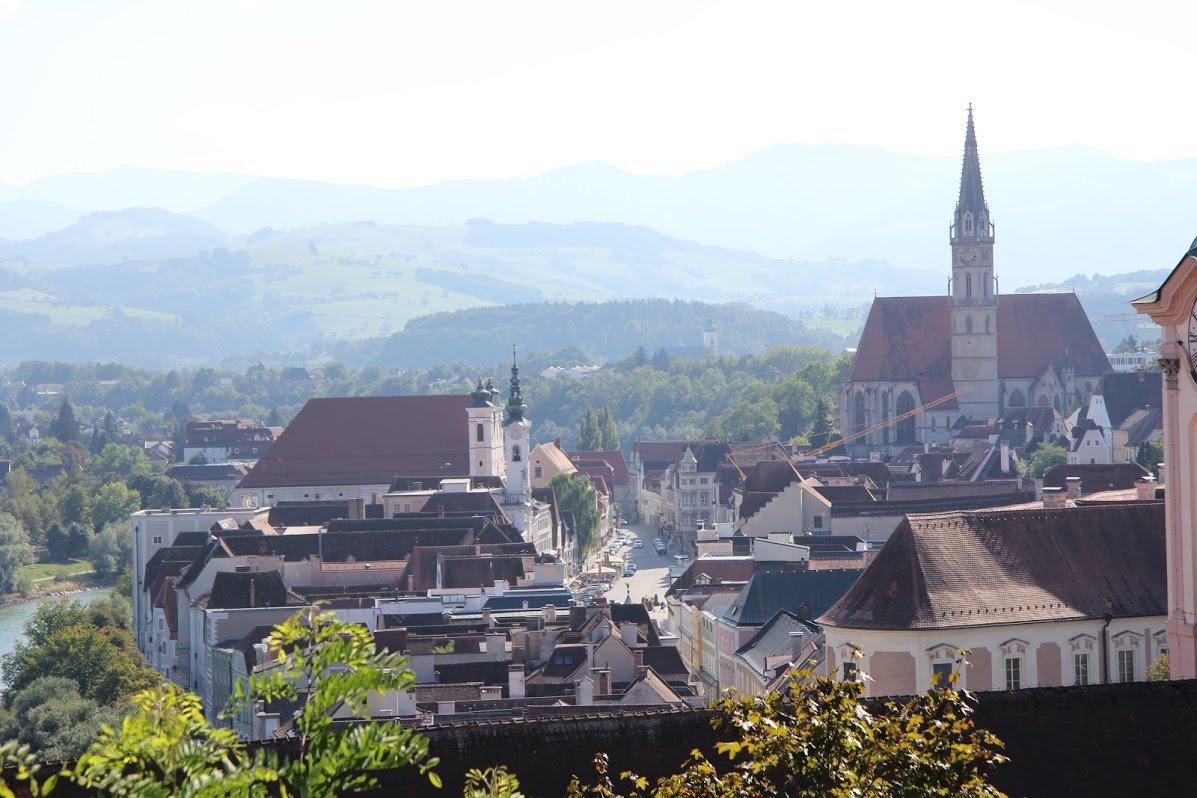 Stadtpfarrkirche, Штайр, Австрия, Сентябрь, 2014