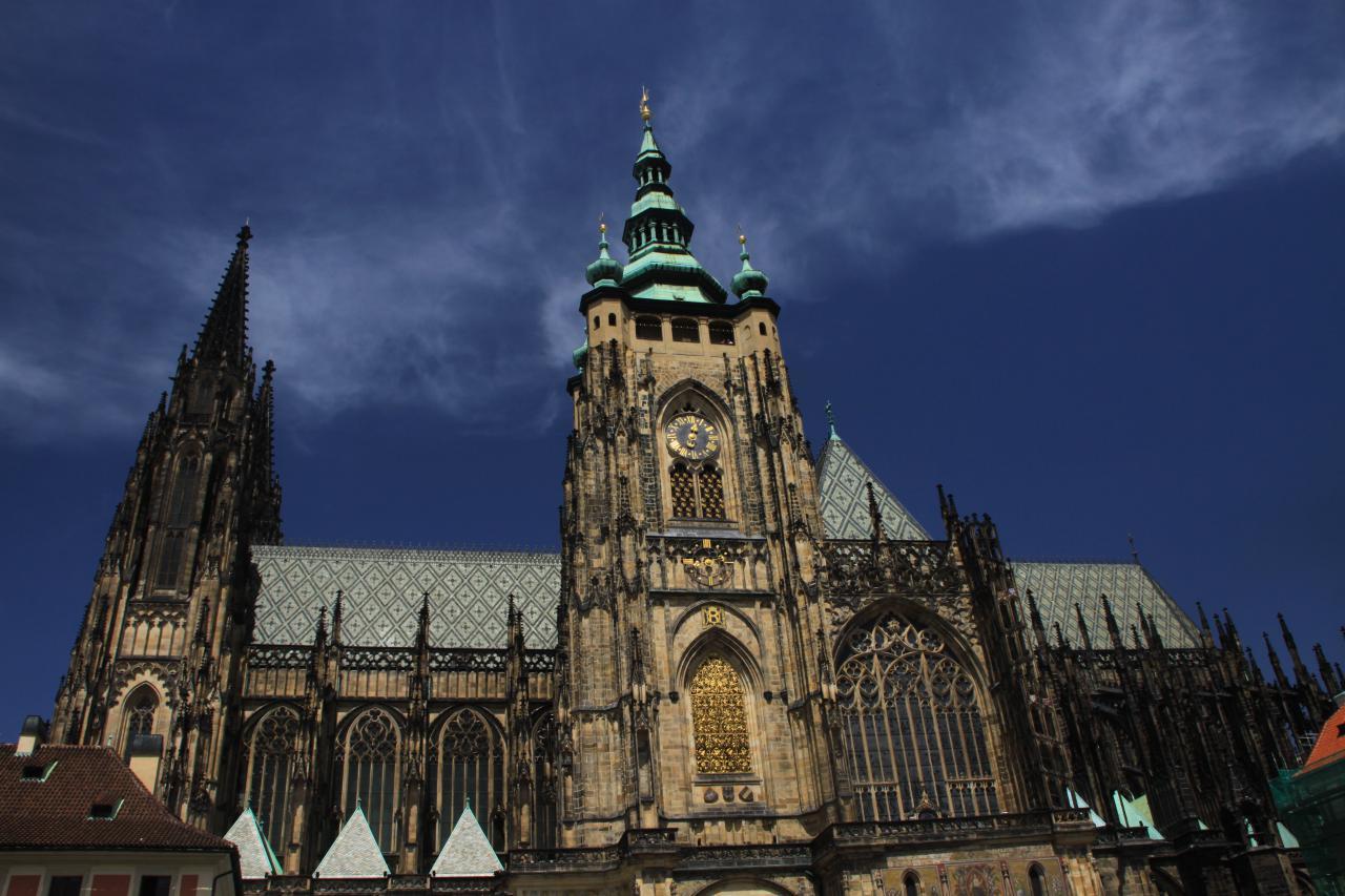 Собор Святого Вита, Вацлава и Войтеха, Прага, Чехия. Июль, 2012
