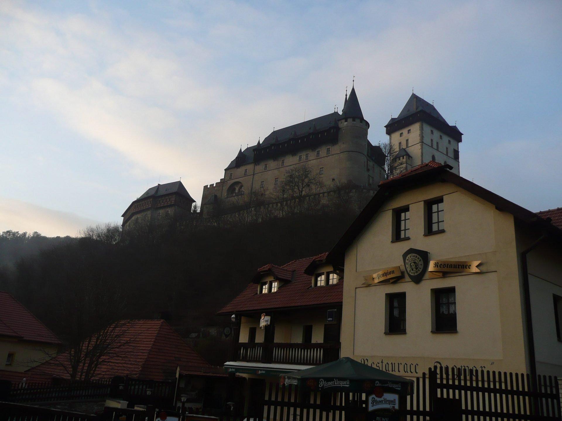Карлштейн, Чехия. Декабрь, 2007