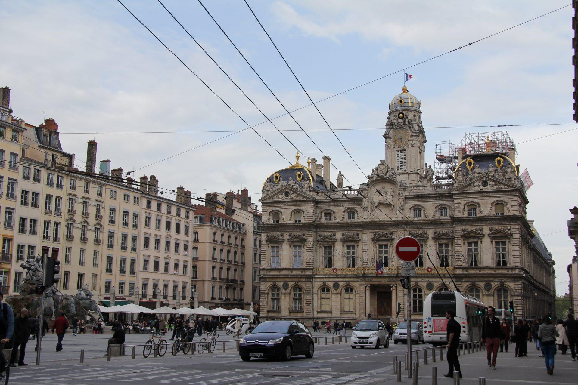 Отель-де-виль, Лион, Франция. Май, 2013