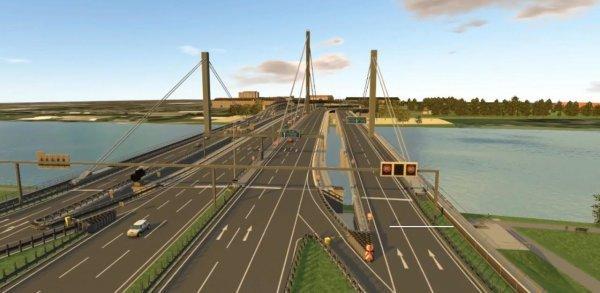 Мост Voest будет выглядеть очень эффектно