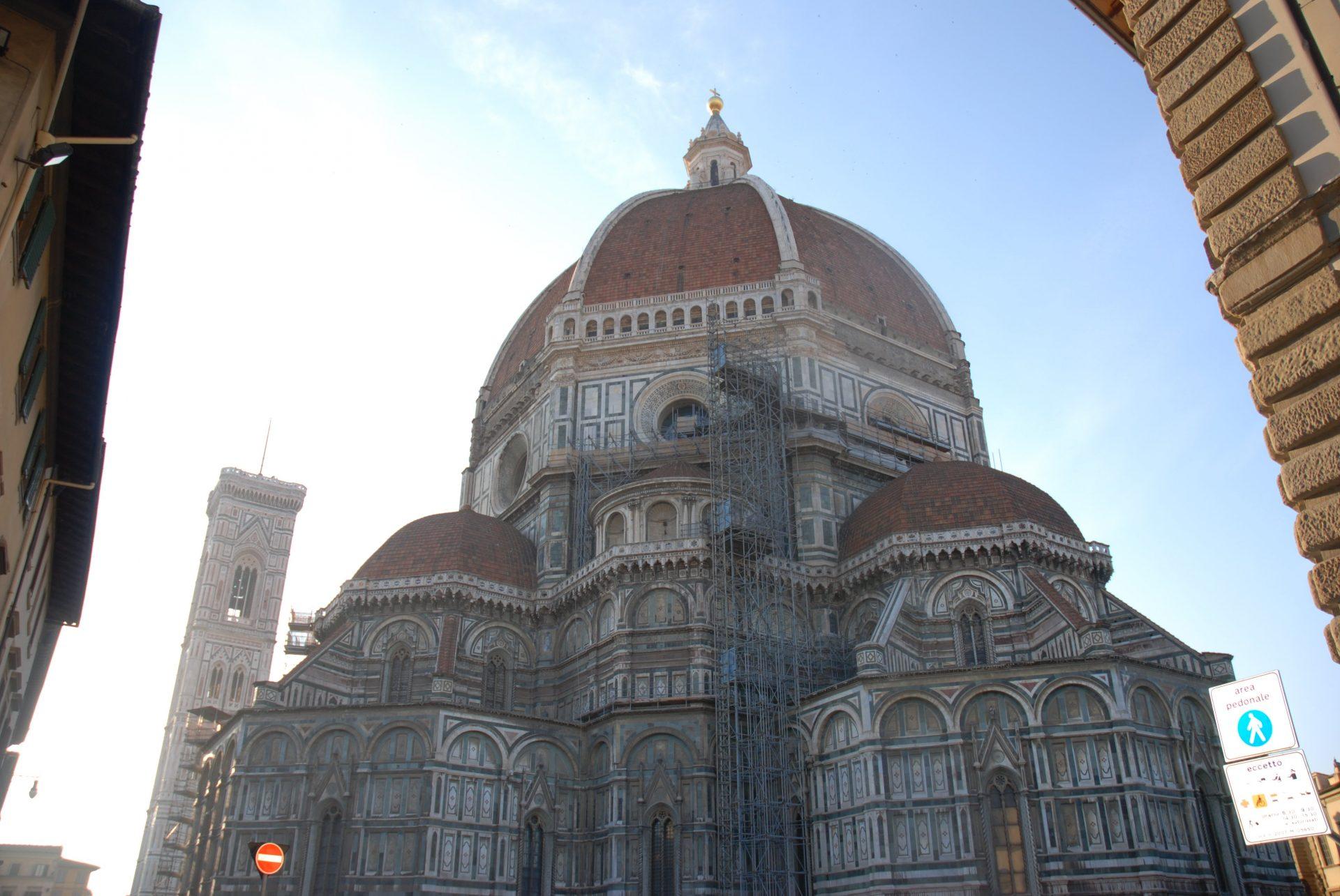 Санта — Мария — Дель — Фьоре, Флоренция, Италия. Апрель, 2011