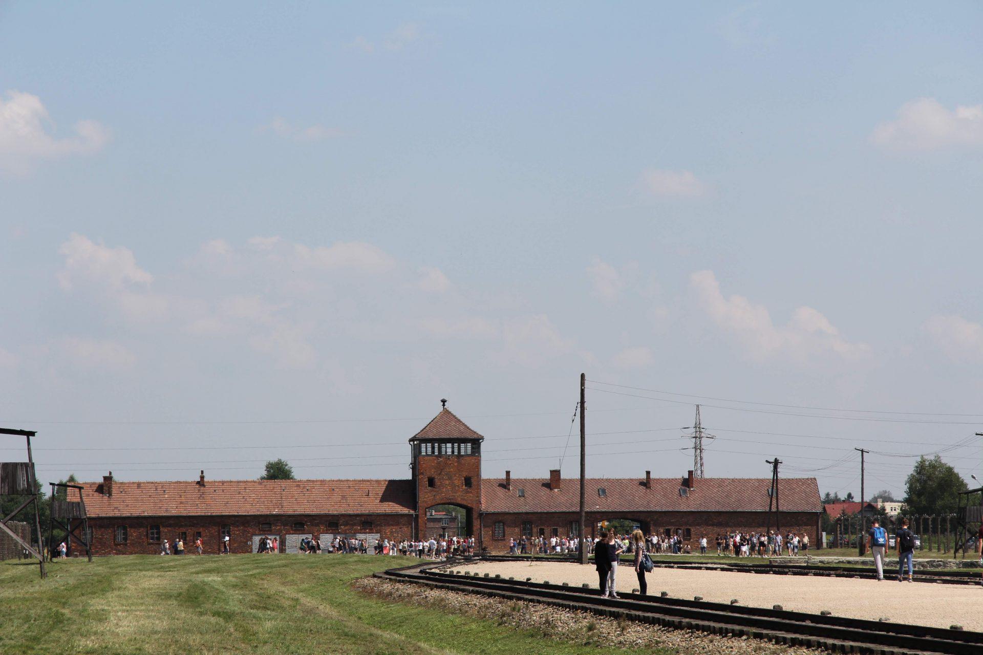 Концентрационный лагерь и лагерь смерти Аушвиц-Биркенау, Освенцим, Польша. Июль, 2013