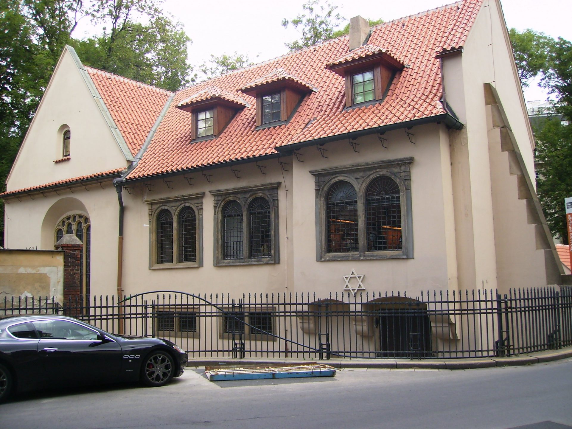 Пинкасова синагога, Прага, Чехия. Июль, 2011