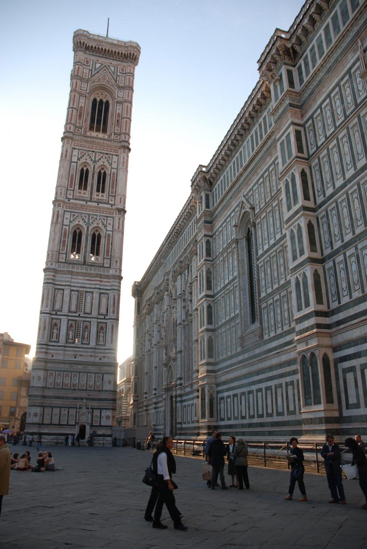 Кампанила Джотто, Флоренция, Италия. Апрель, 2011