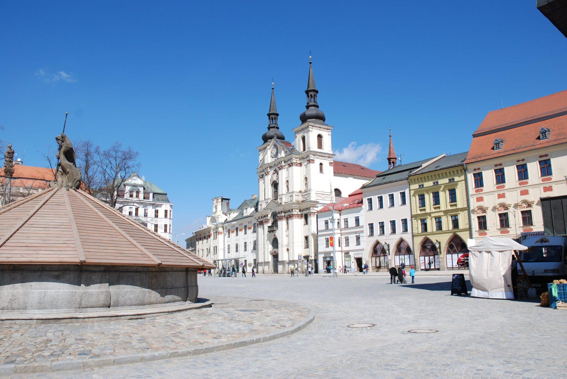 Собор Святого Игнатия, Йиглава, Чехия. Апрель, 2011