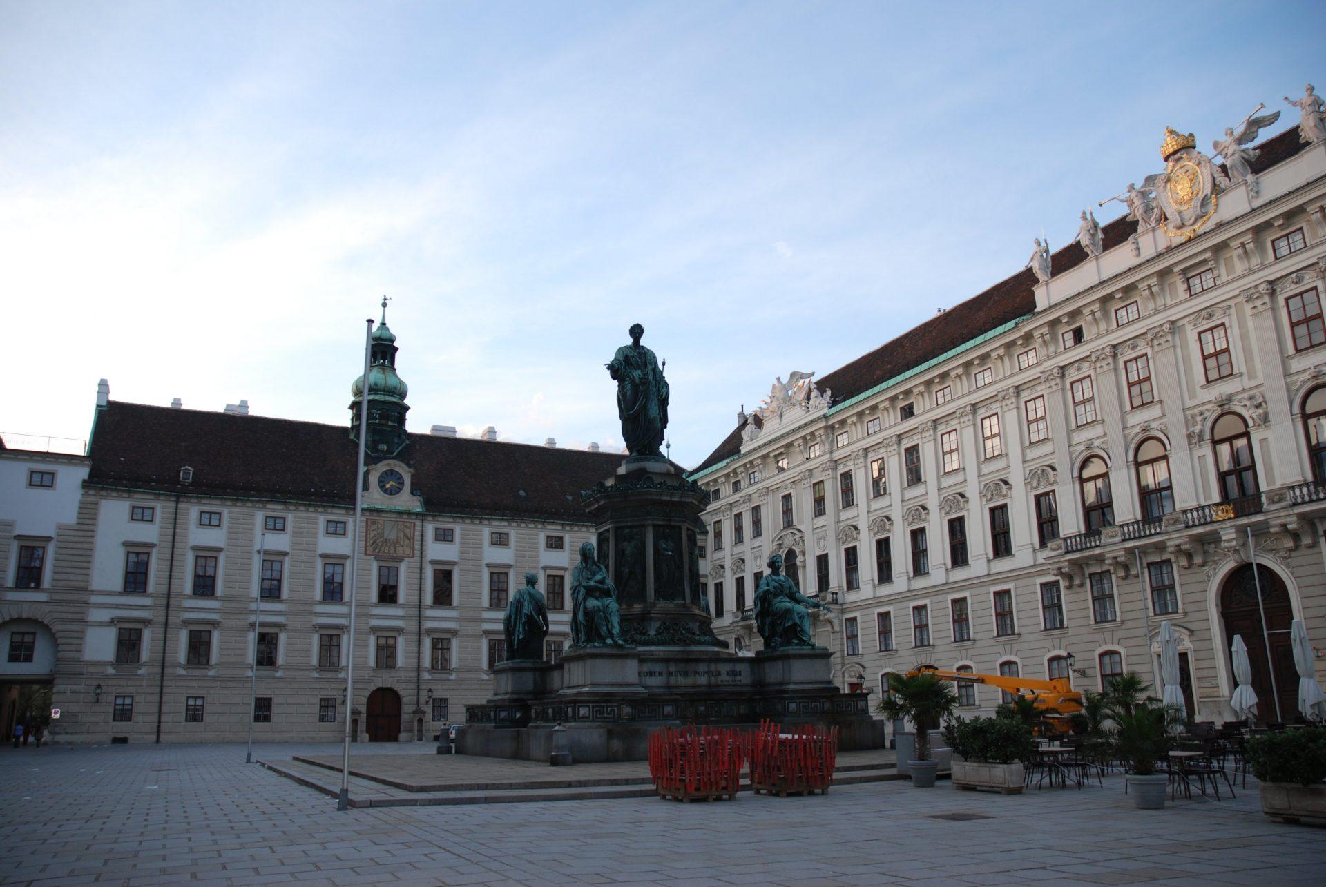 Памятник Кайзеру Францу I, Вена, Австрия. Июнь, 2012