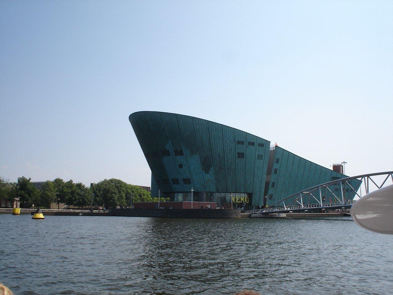 Музей NEMO, Амстердам, Нидерланды, Июль, 2006