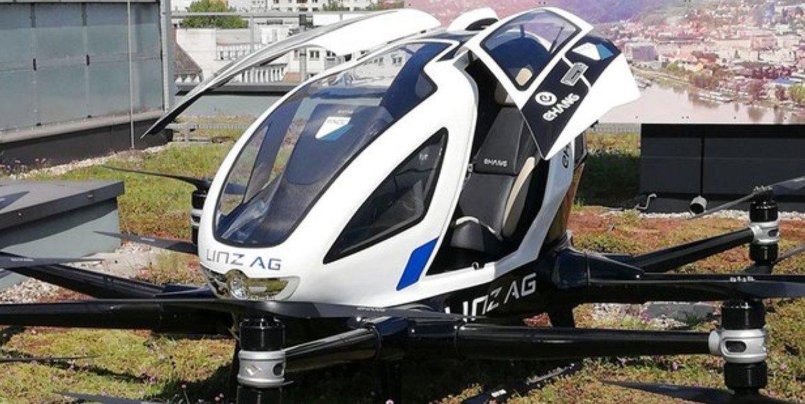 В австрийском Линце скоро появится беспилотное авиатакси!