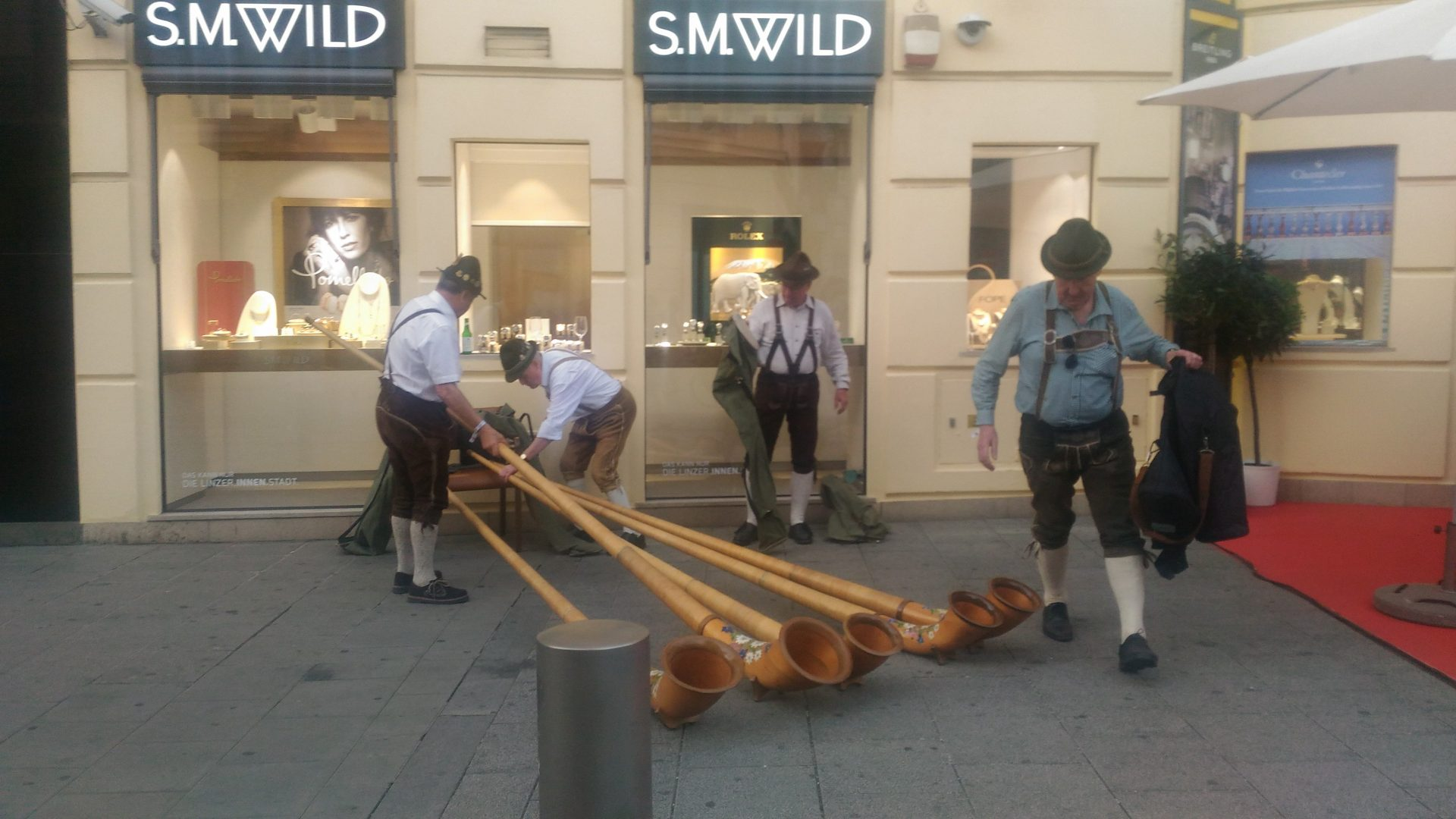 Что в Австрии праздновали в этот четверг?