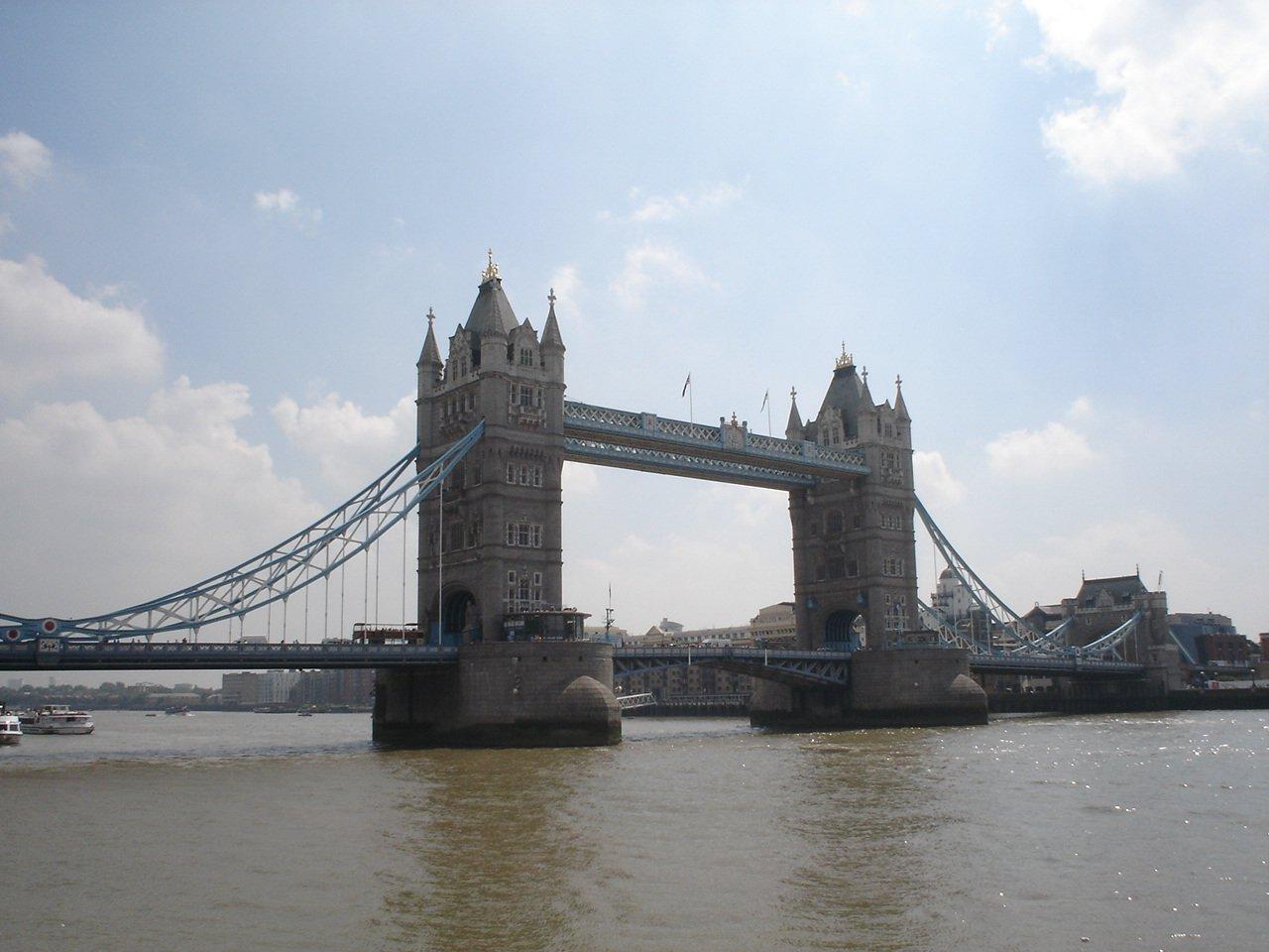 Тауэрский мост, Лондон, Великобритания. Июль, 2006
