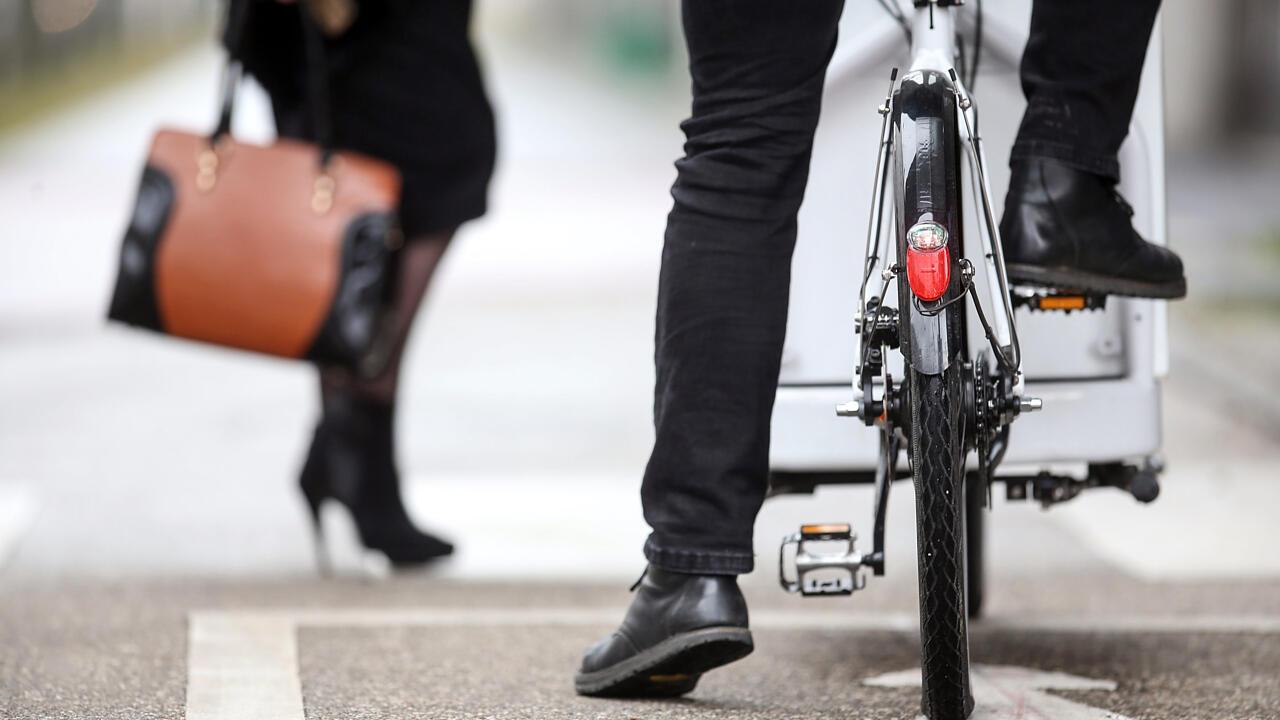 В австрийском Линце по горячим следам задержали укравших велосипед граждан России
