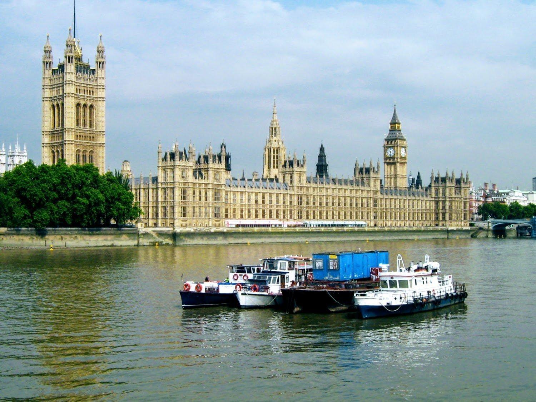 Вестминстерский дворец, Лондон, Великобритания. Июль, 2006