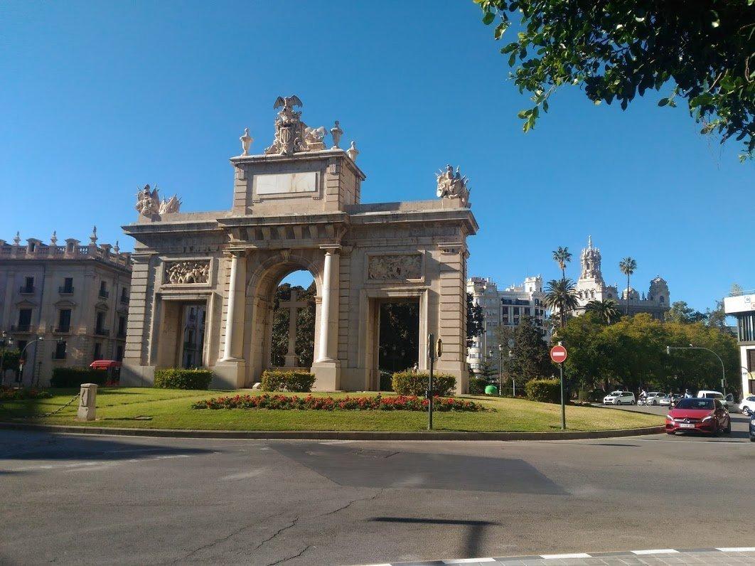 Морские ворота, Валенсия, Испания. Январь, 2018
