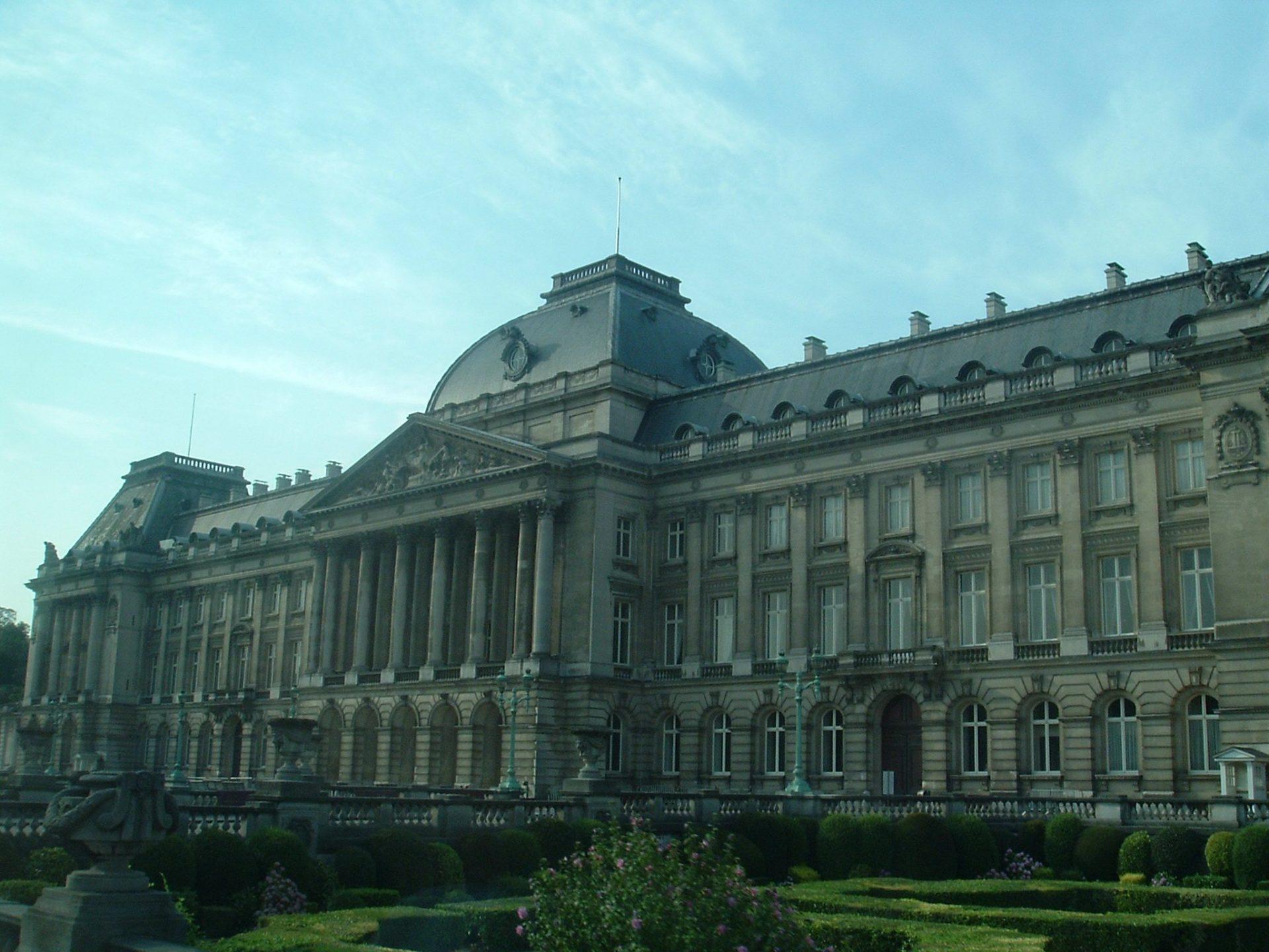 Королевский дворец,  Брюссель, Бельгия. Июнь, 2006