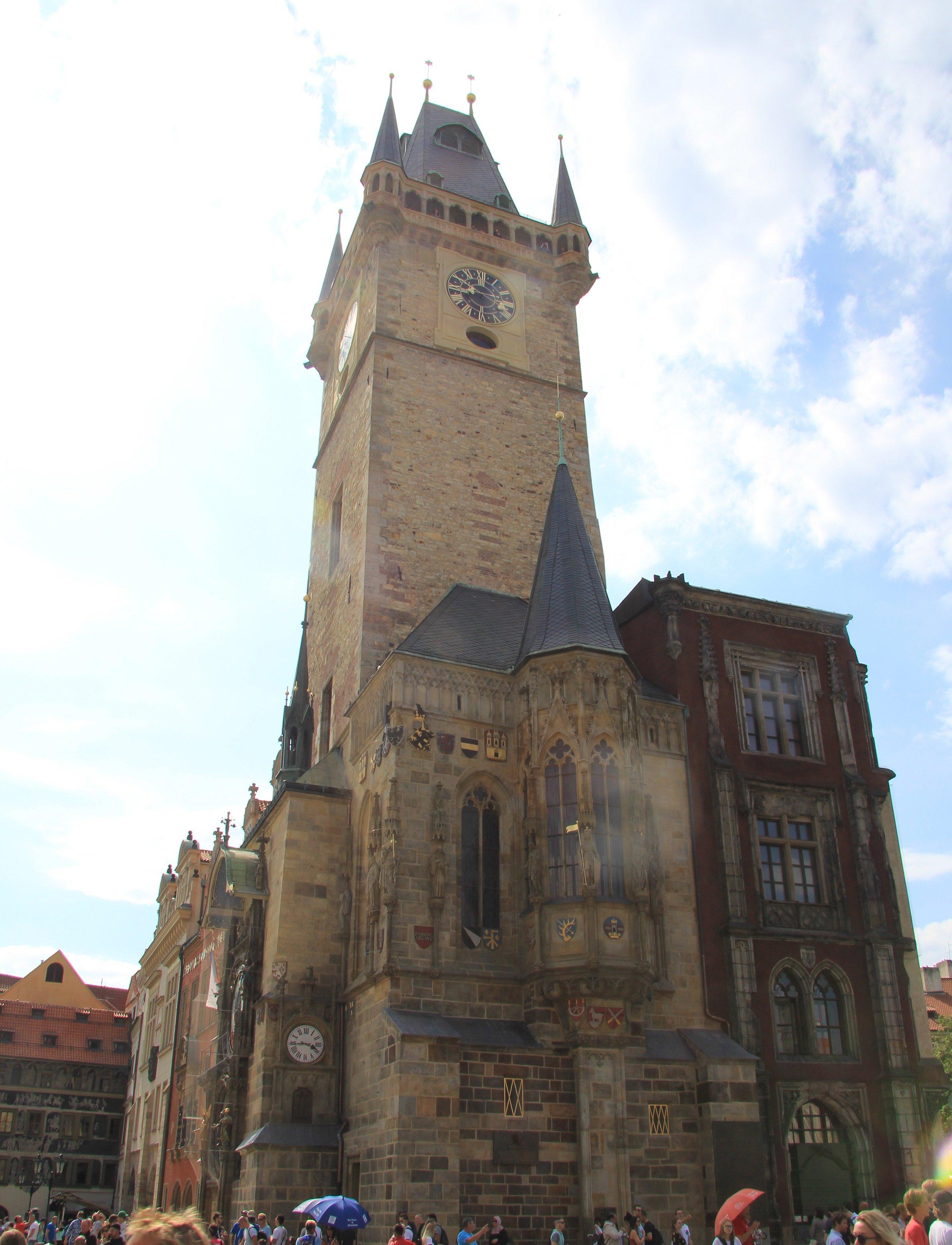 Староместская ратуша, Прага, Чехия. Август, 2019