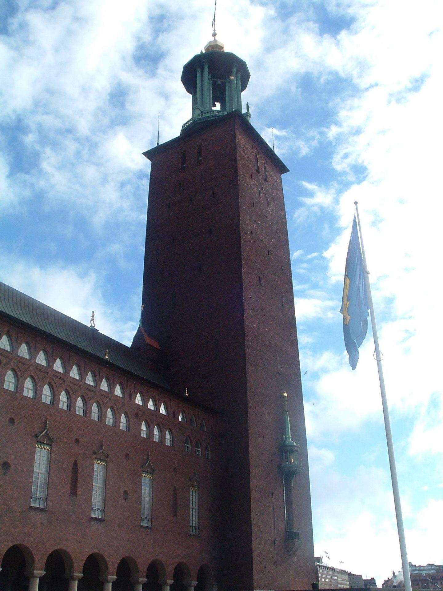 Стокгольмская ратуша, Стокгольм, Швеция. Июль, 2005