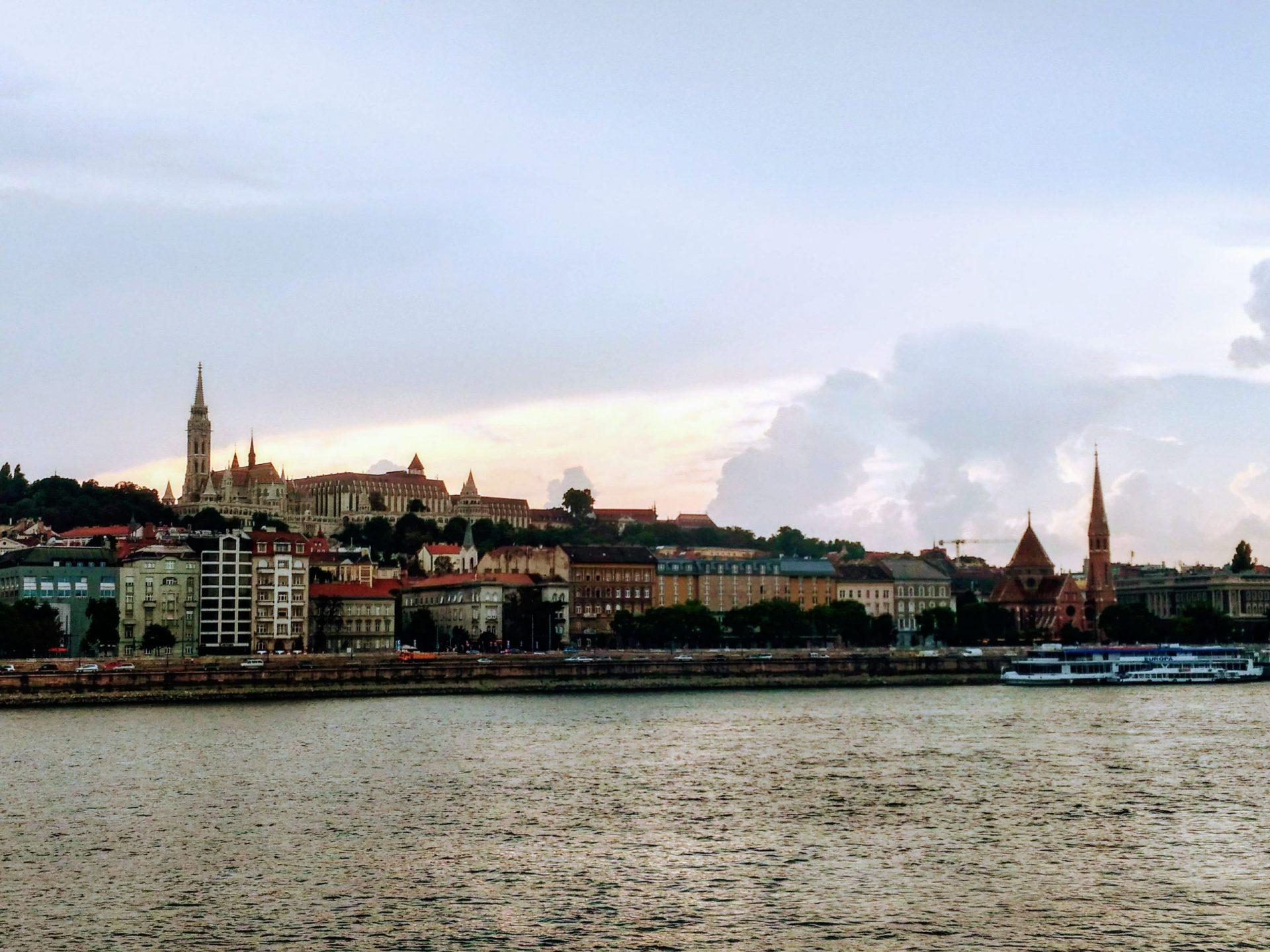 Рыбацкий бастион, Будапешт, Венгрия. Август, 2018
