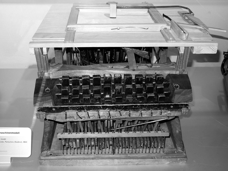 Питер Миттерхофер — австрийский изобретатель пишущей машинки
