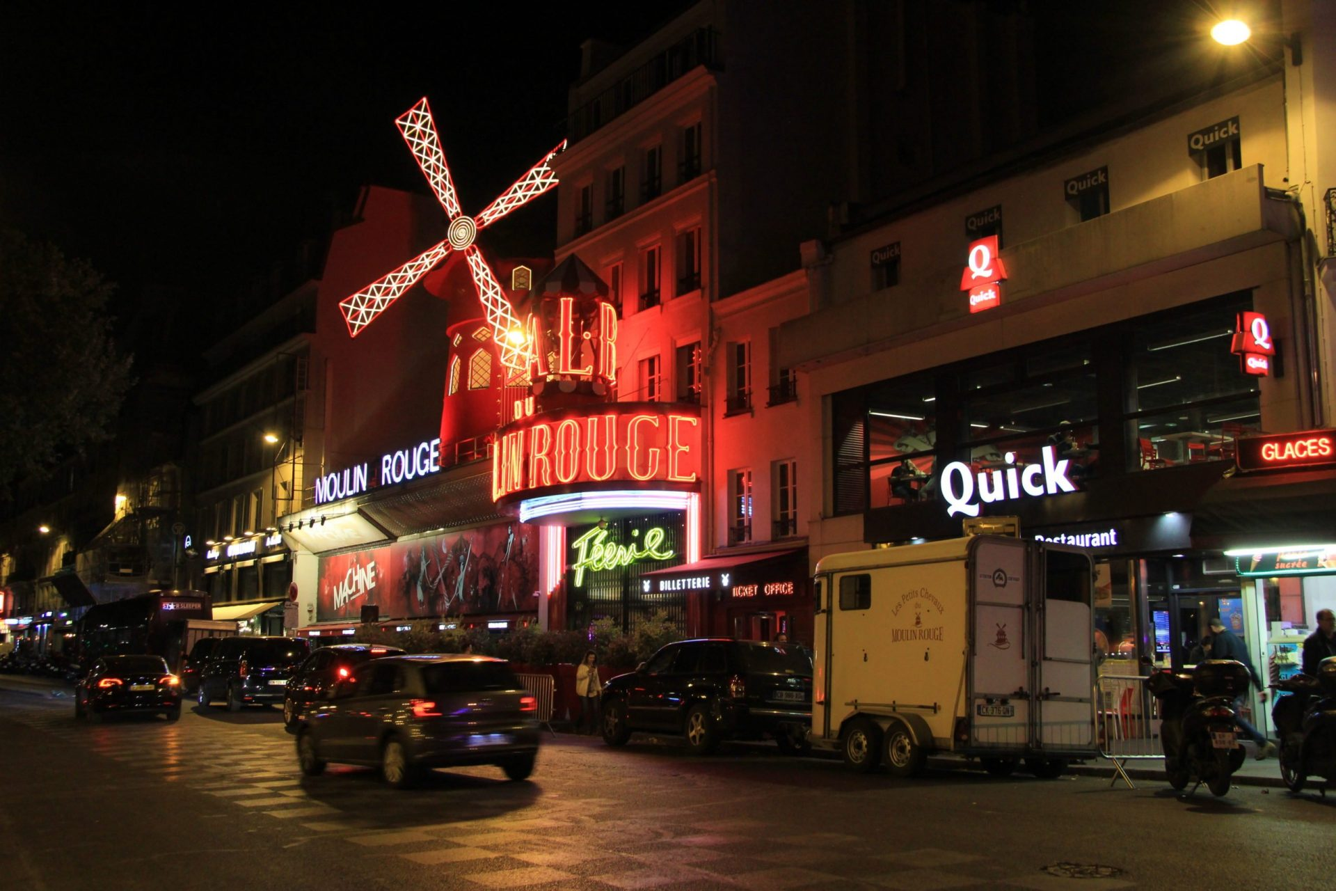 Мулен Руж, Париж, Франция. Сентябрь, 2019