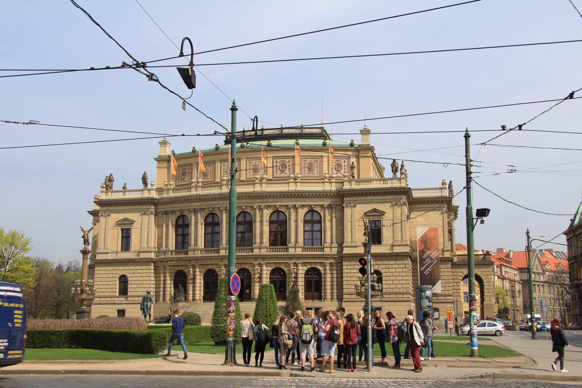 Рудольфинум, Прага, Чехия. Август, 2018