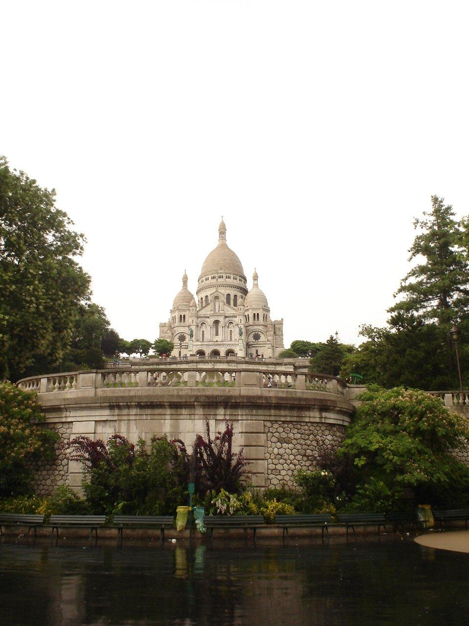 Базилика Сакре-Кёр, Париж, Франция. Июль, 2006