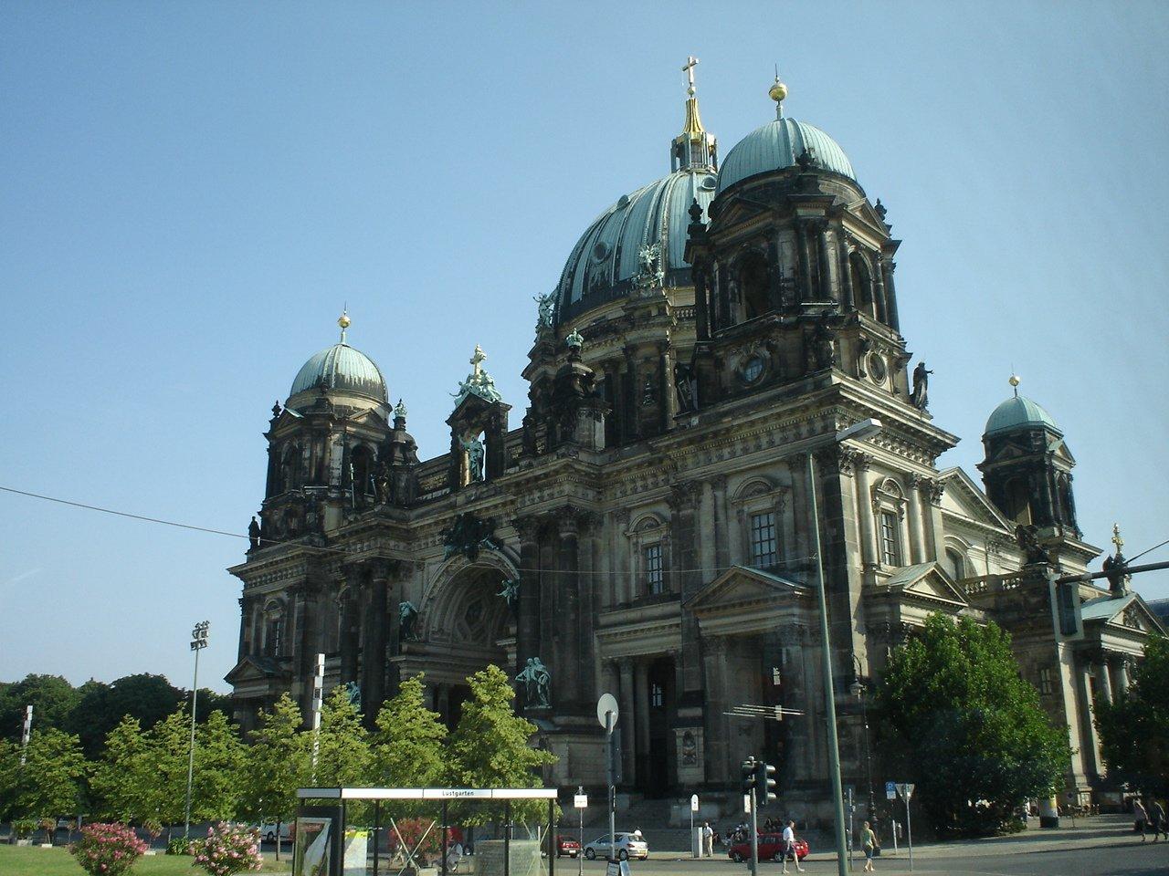 Берлинский кафедральный собор, Берлин, Германия. Июль, 2006