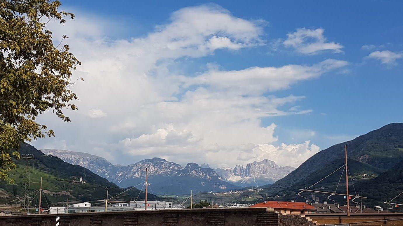 Доломитовые альпы, Болцано, Италия. Август, 2018