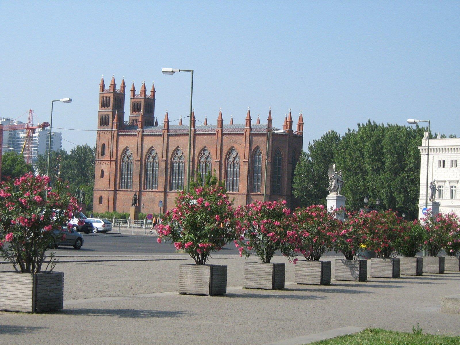 Фридрихсвердерская церковь, Берлин, Германия. Июль, 2006