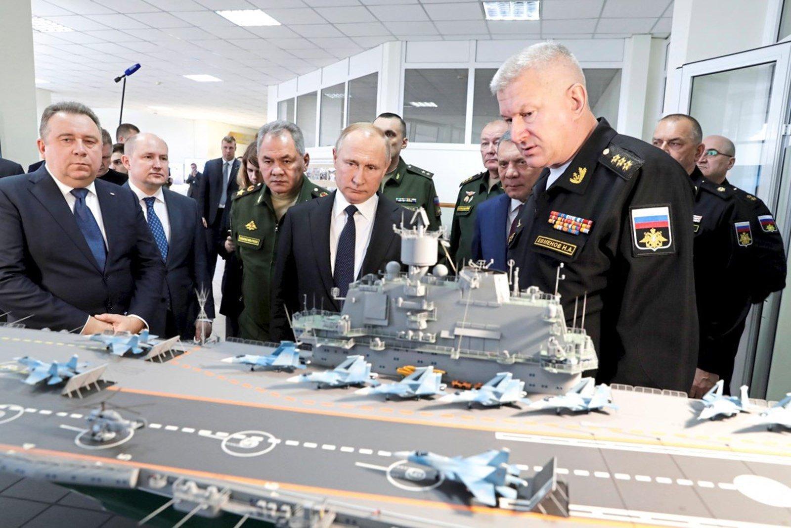 СМИ Австрии: почему Россия сейчас полагается на атомный авианосец