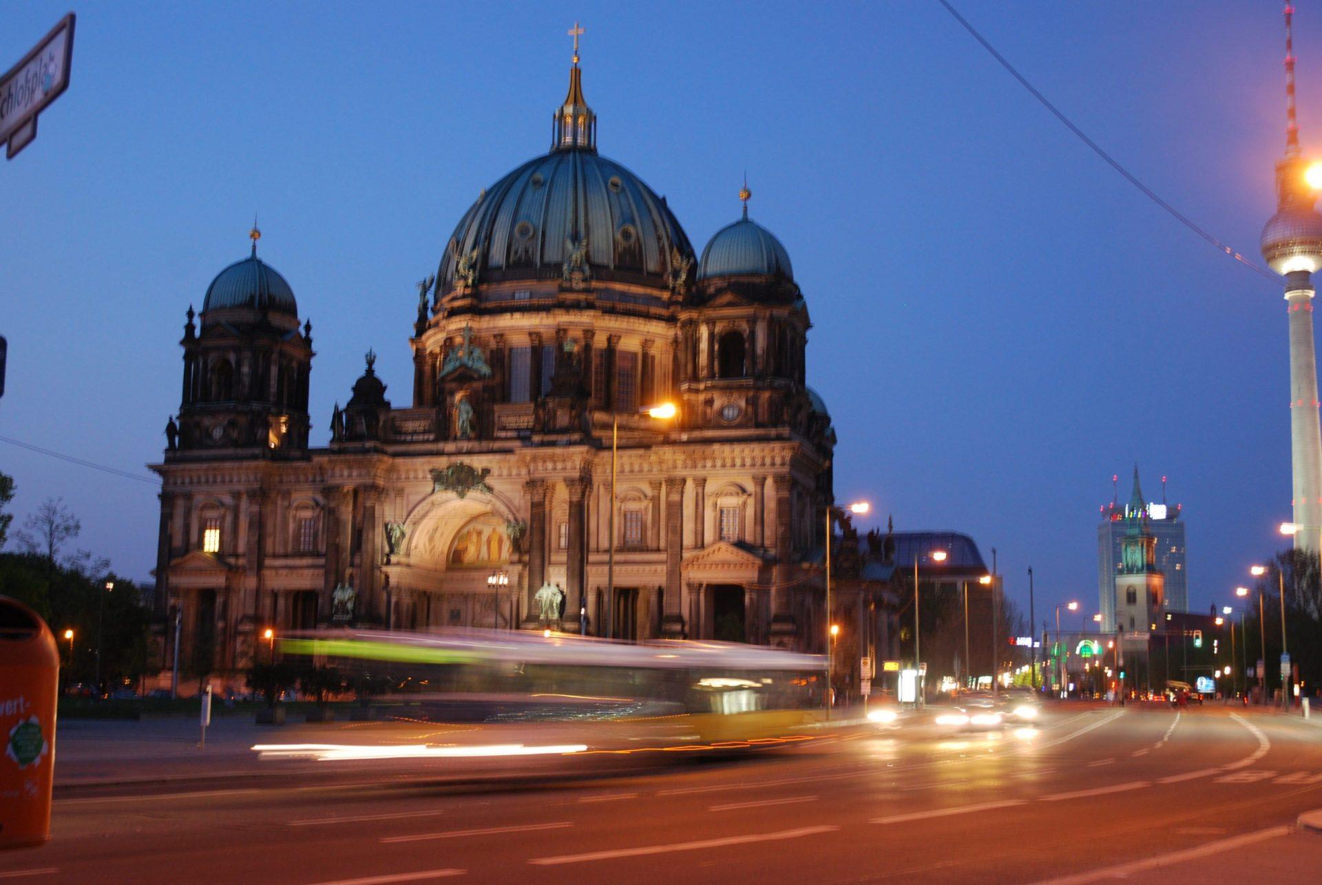Берлинский кафедральный собор, Берлин, Германия. Апрель, 2011