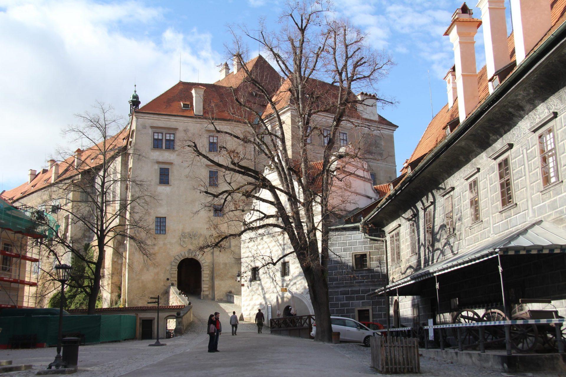 Крумловский замок, Крумлов, Чехия. Сентябрь, 2014