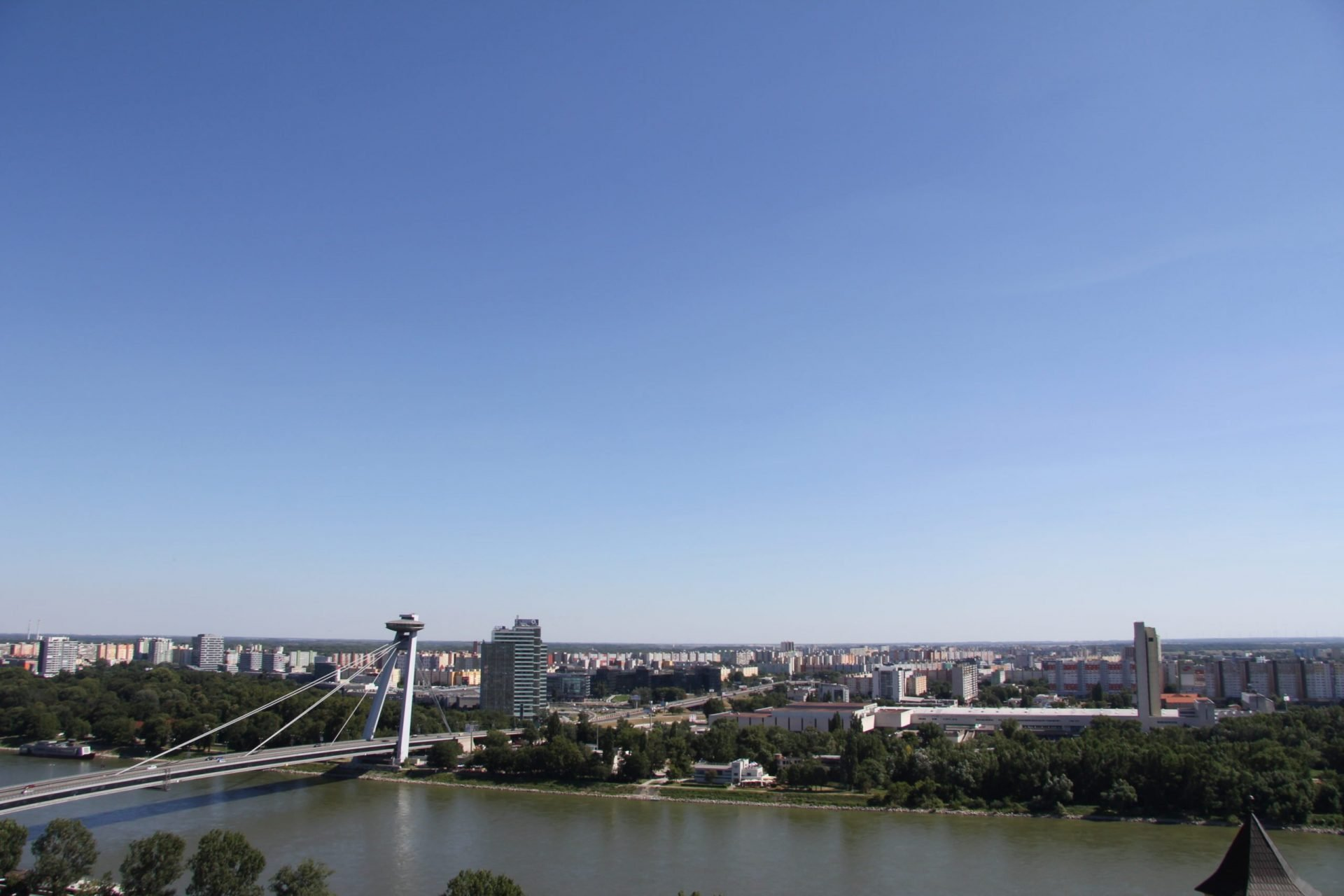 Мост СНП, Братислава, Словакия. Июль, 2013