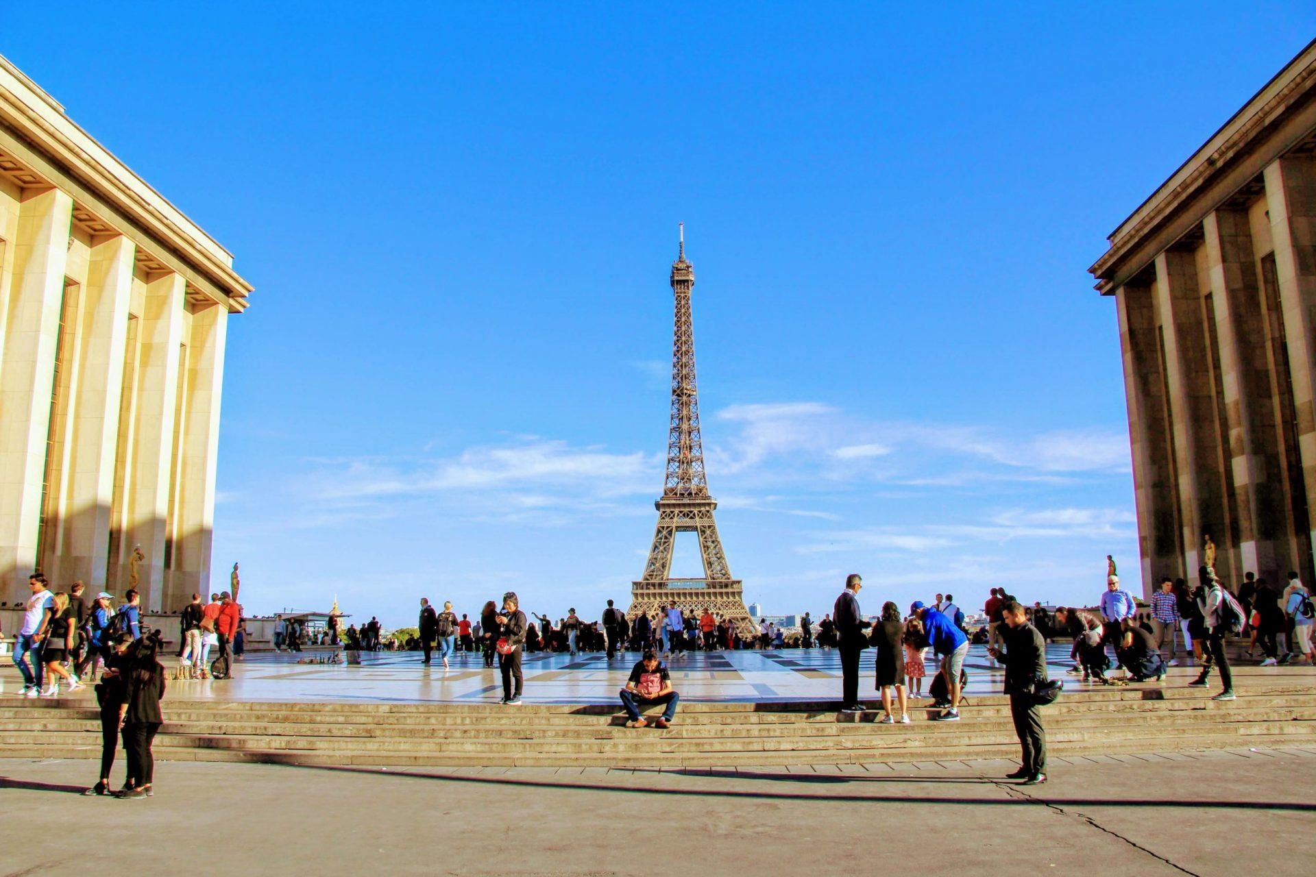Дворец Шайо, Париж, Франция. Сентябрь, 2019