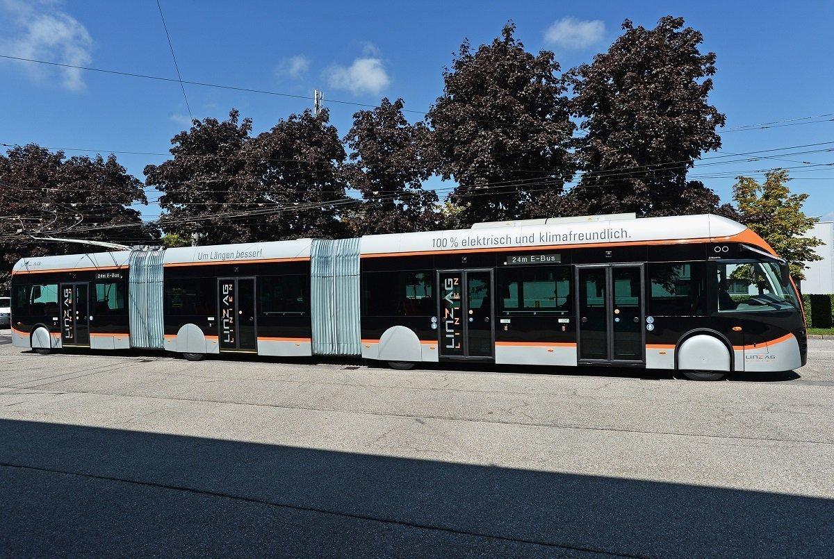 Будущее наконец-то пришло в общественный транспорт австрийского Линца