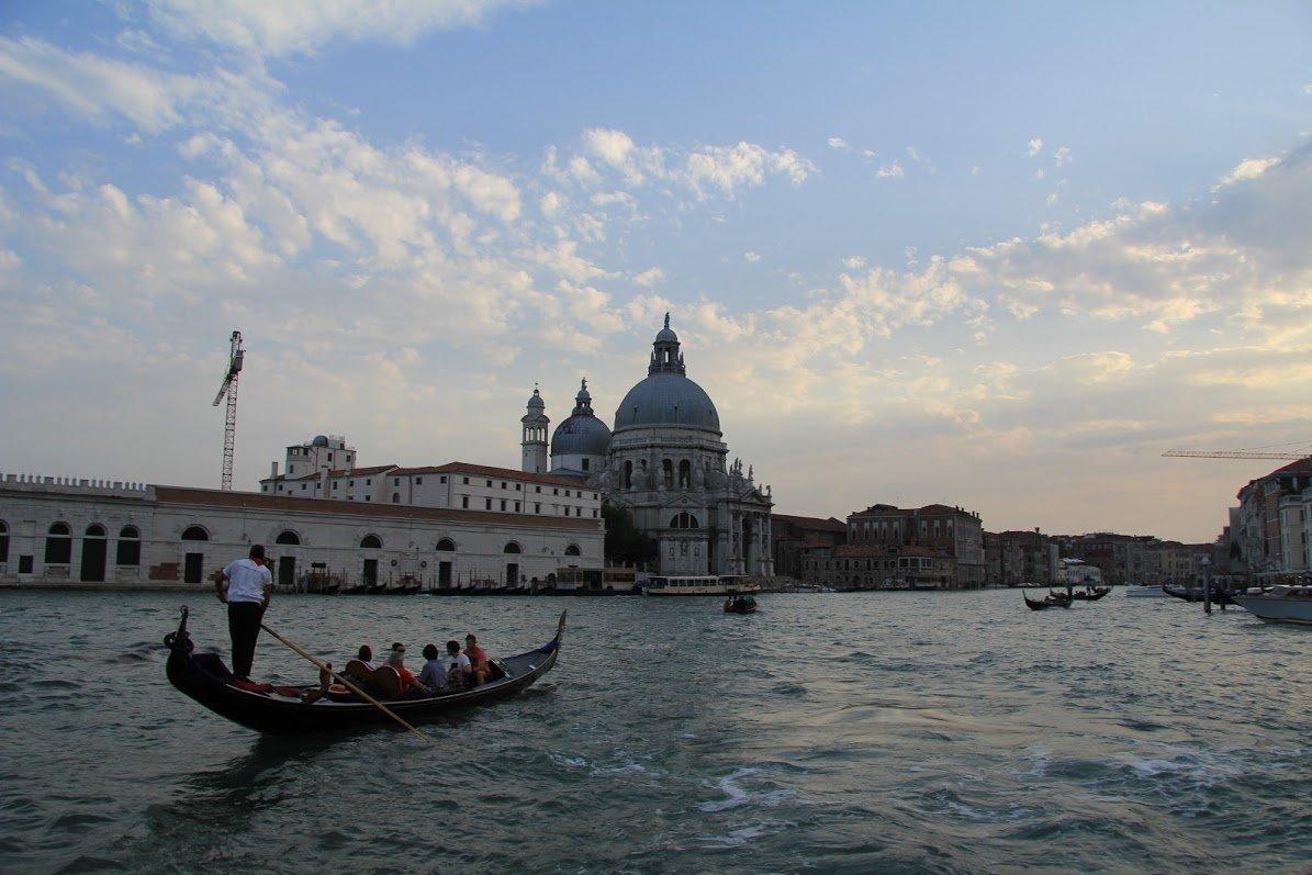 Пунта-делла-Догана, Венеция, Италия. Июль, 2012