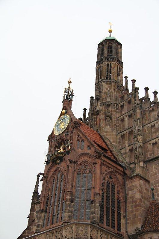 Церковь Девы Марии, Нюрнберг, Германия. Апрель, 2013