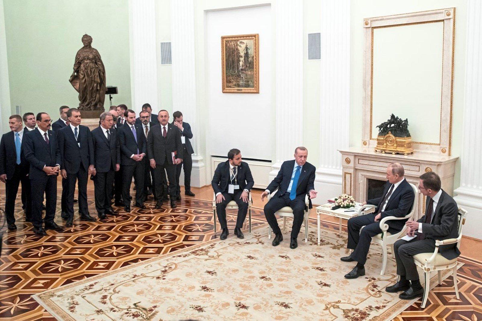 СМИ Австрии. Путин и Эрдоган возобновляют мир в Сирии
