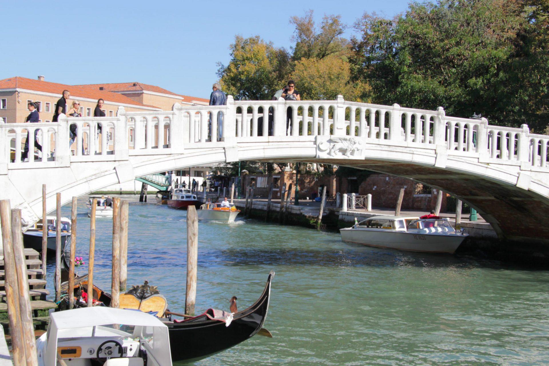 Мост Скальци, Венеция, Италия. Сентябрь, 2014