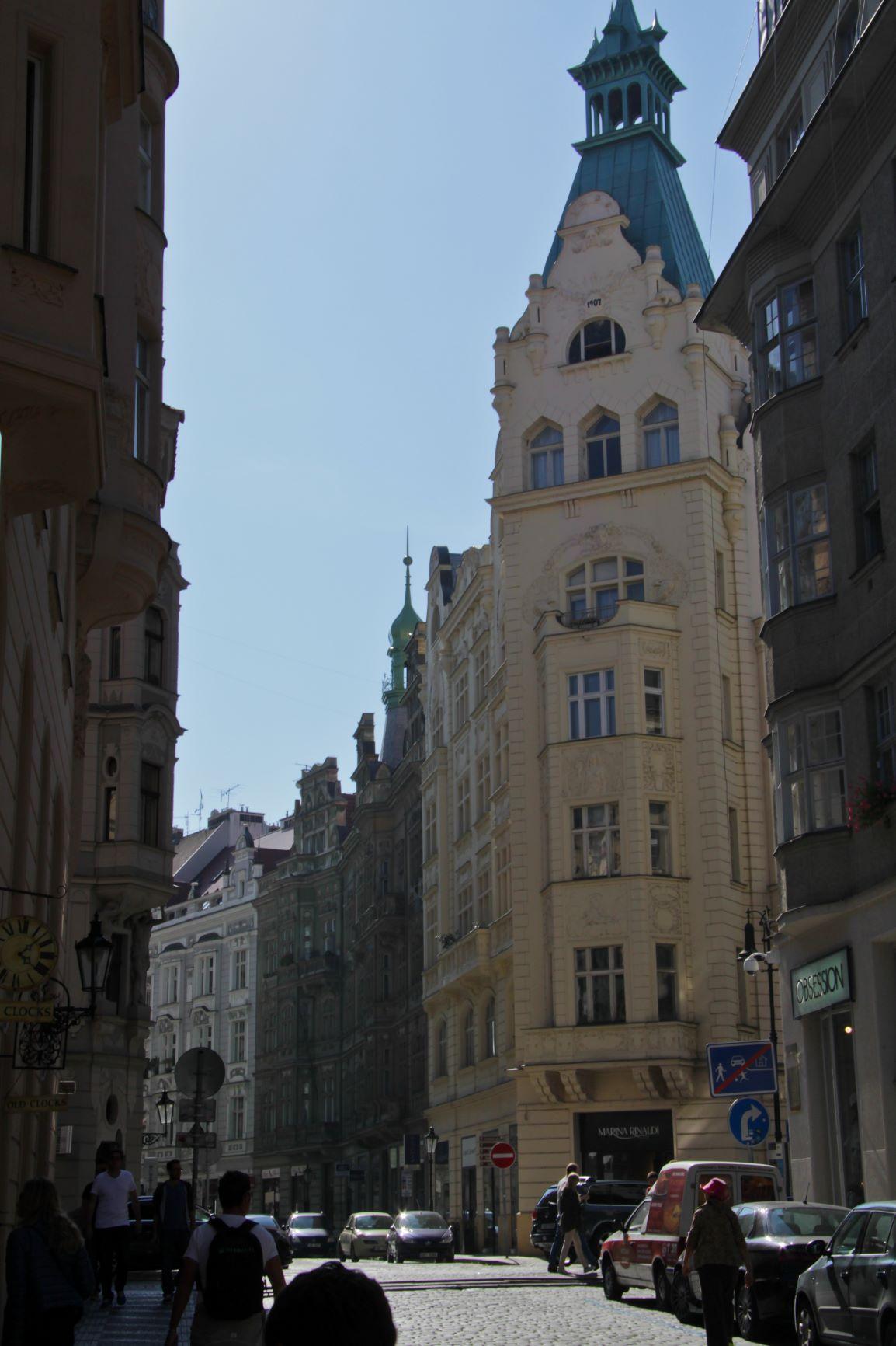 Квартал Йозефов, Прага, Чехия. Сентябрь, 2014