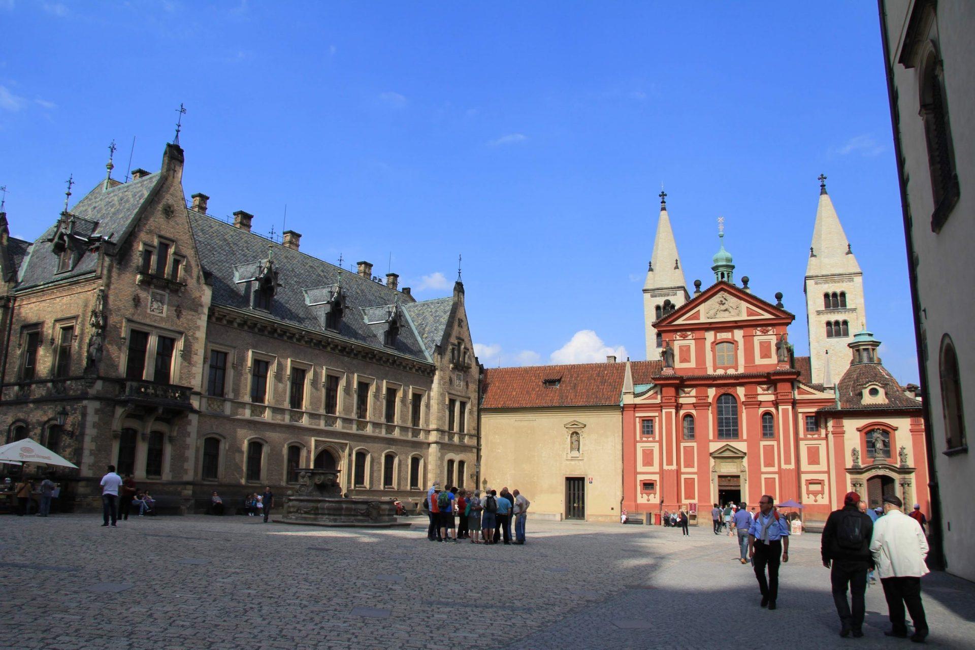 Базилика святого Георгия, Прага, Чехия. Апрель, 2013