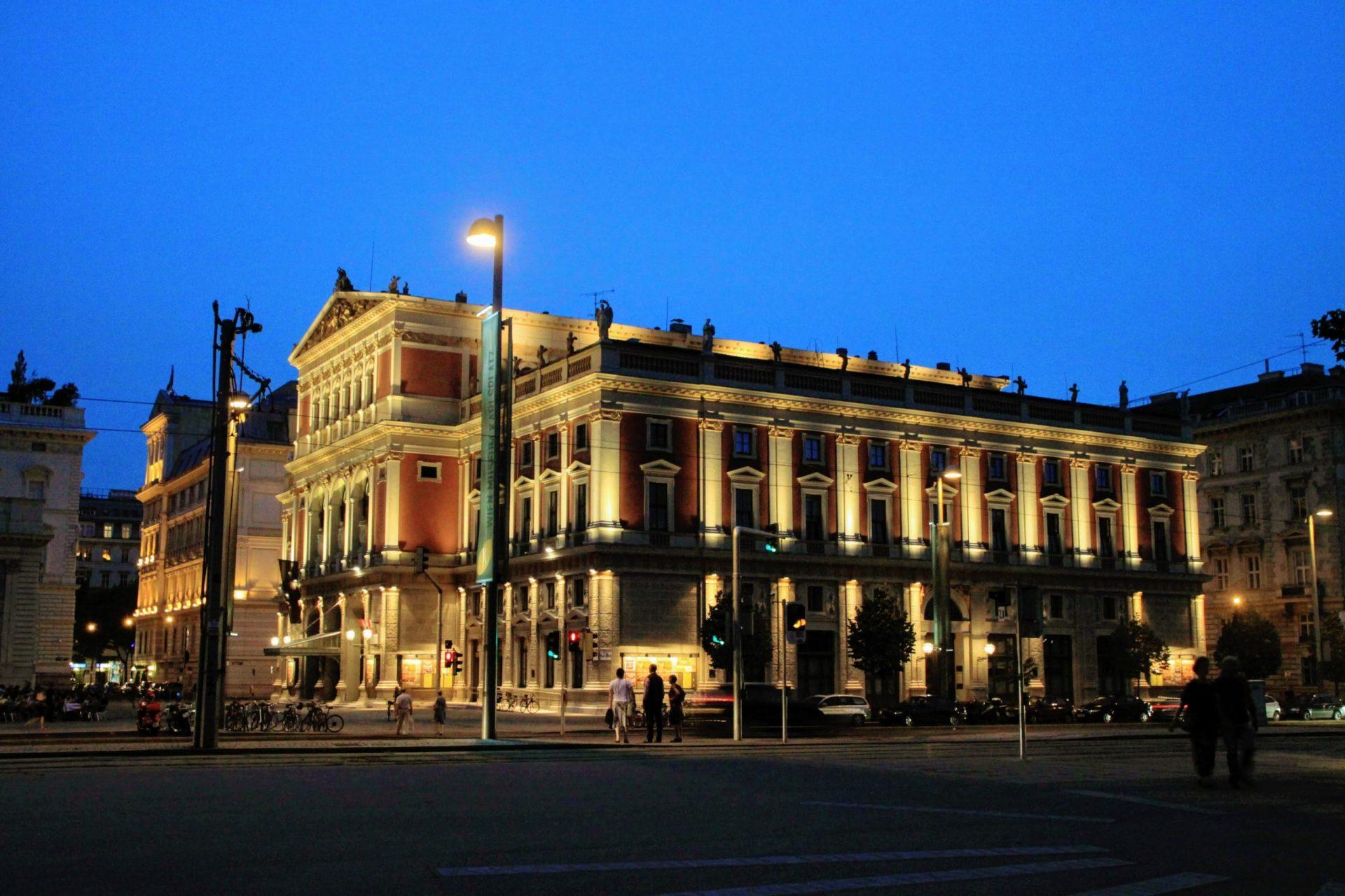 Музикферайн, Вена, Австрия. Июль, 2012