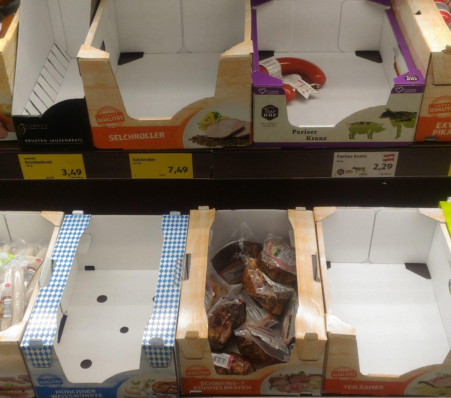 Наблюдения эмигранта. Пустые полки в австрийских супермаркетах из-за коронавируса?