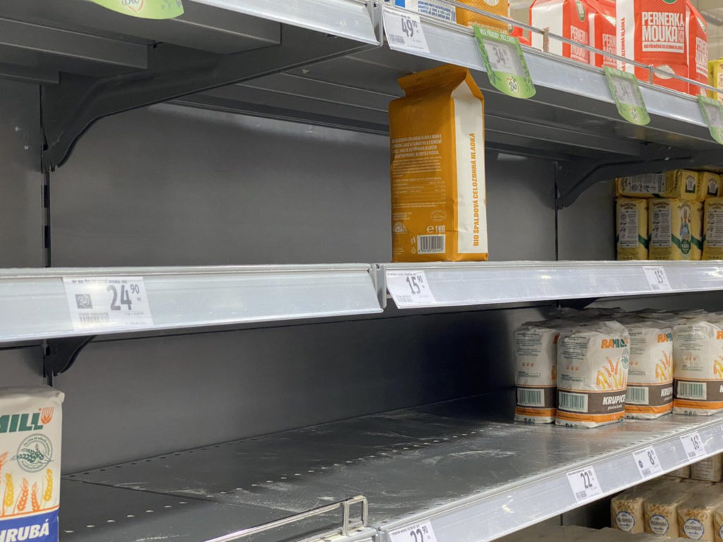 Полки в супермаркетах Чехии. Проект «Жизнь эмигранта» — единственный в Рунете ежедневный авторский канал об эмиграции и жизни в Австрии.