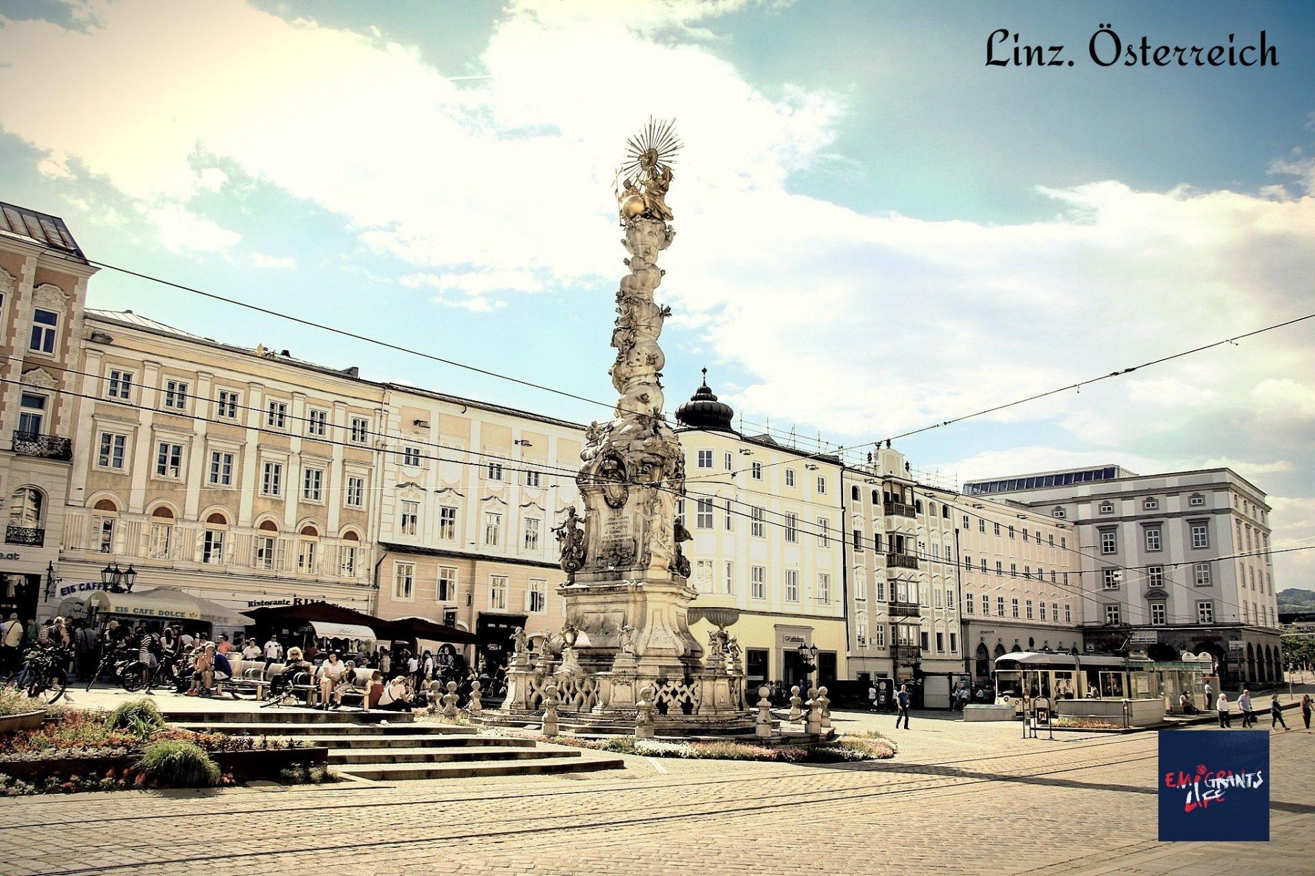 """Вид на Линц. Лайфхаки об Австрии. Проект """"Жизнь эмигранта"""" - это авторские материалы о моей эмиграции в Австрию."""