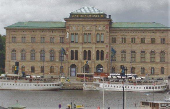 Национальный музей Швеции, Стокгольм, Швеция. Июль, 2005