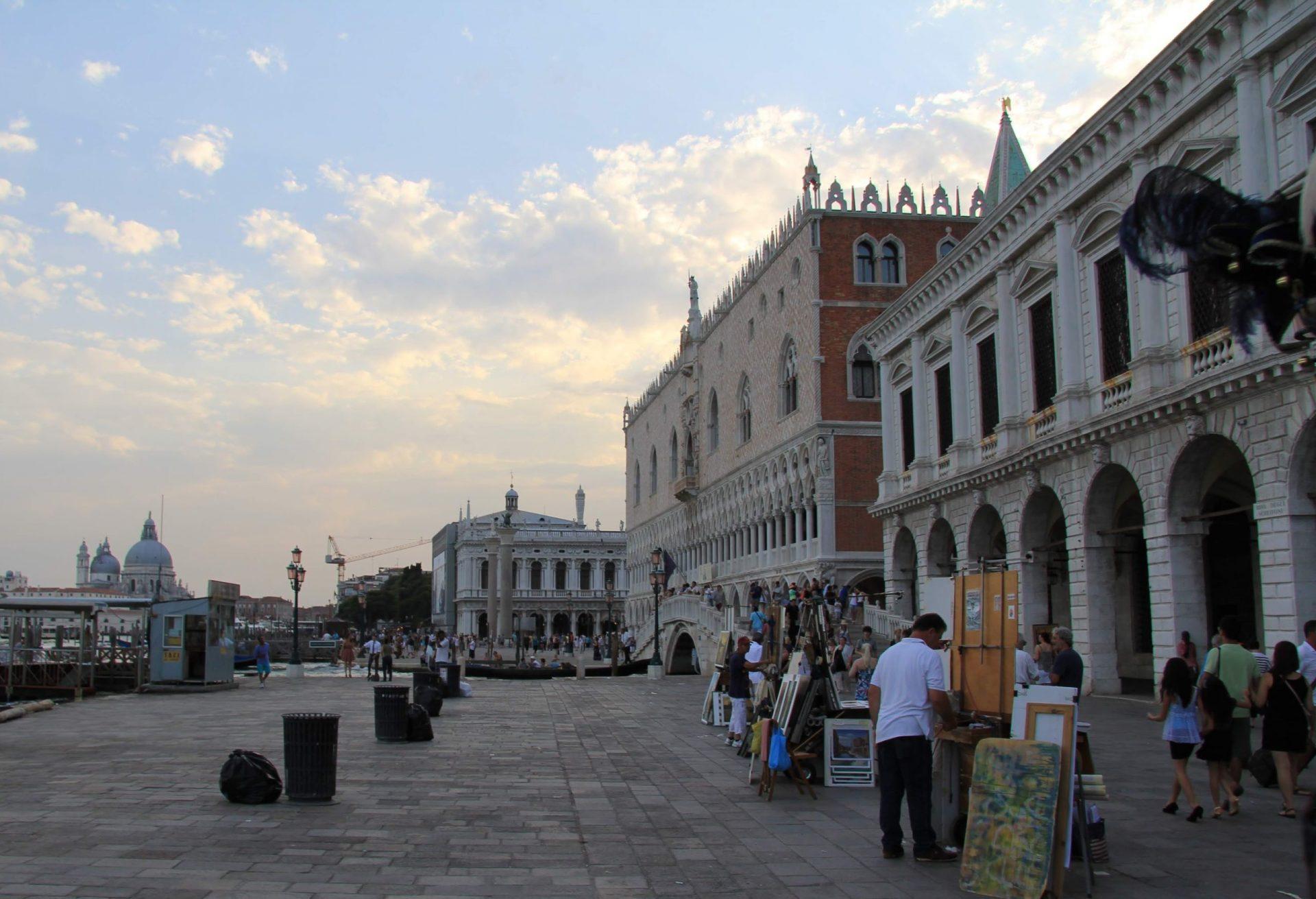 Соломенный мост, Венеция, Италия. Июль, 2012