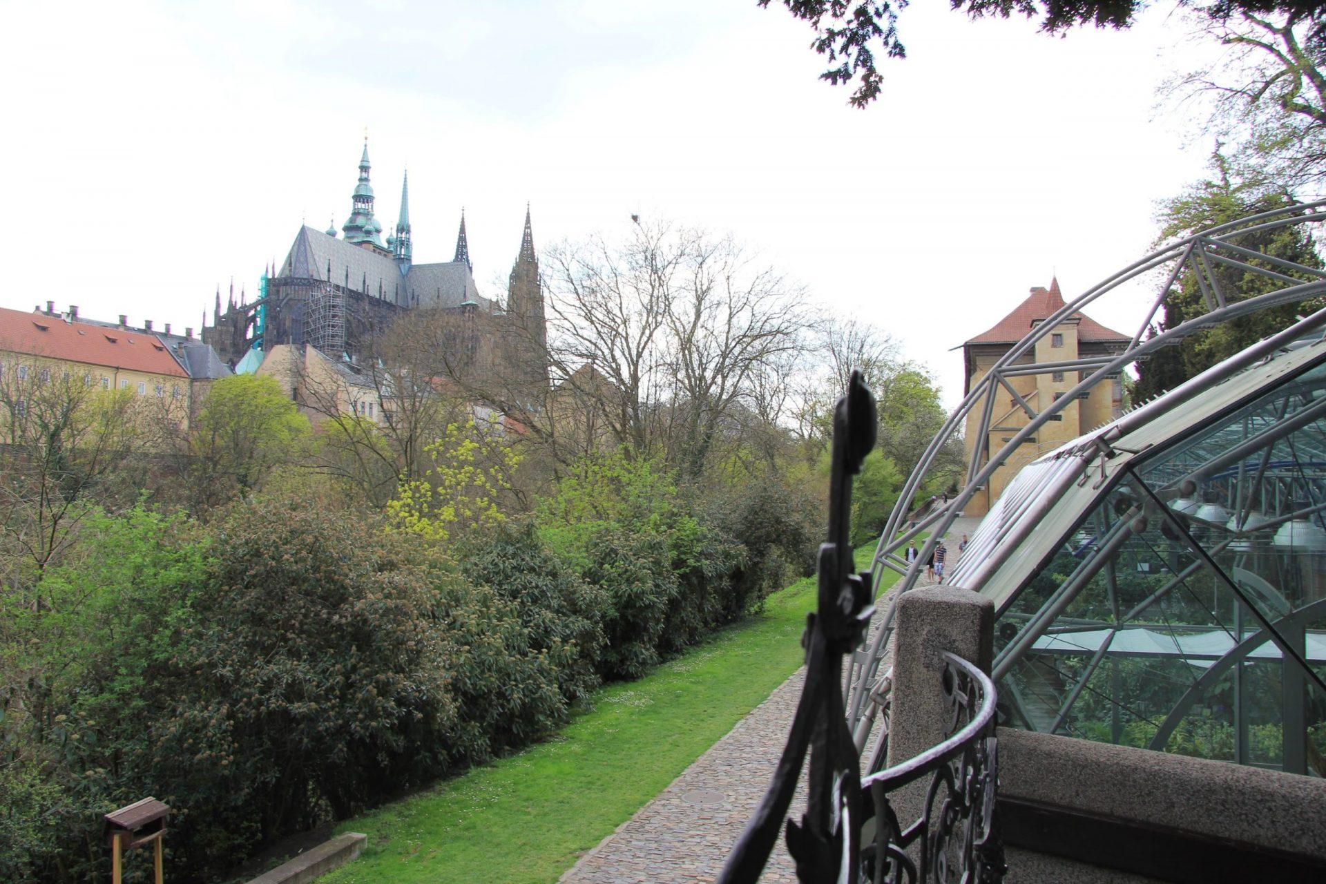Новая оранжерея в Королевском саду, Прага, Чехия. Апрель, 2013