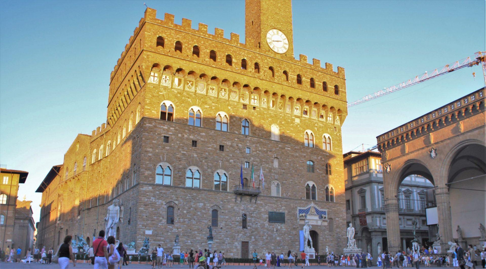Площадь Синьории, Флоренция, Италия. Июль, 2012