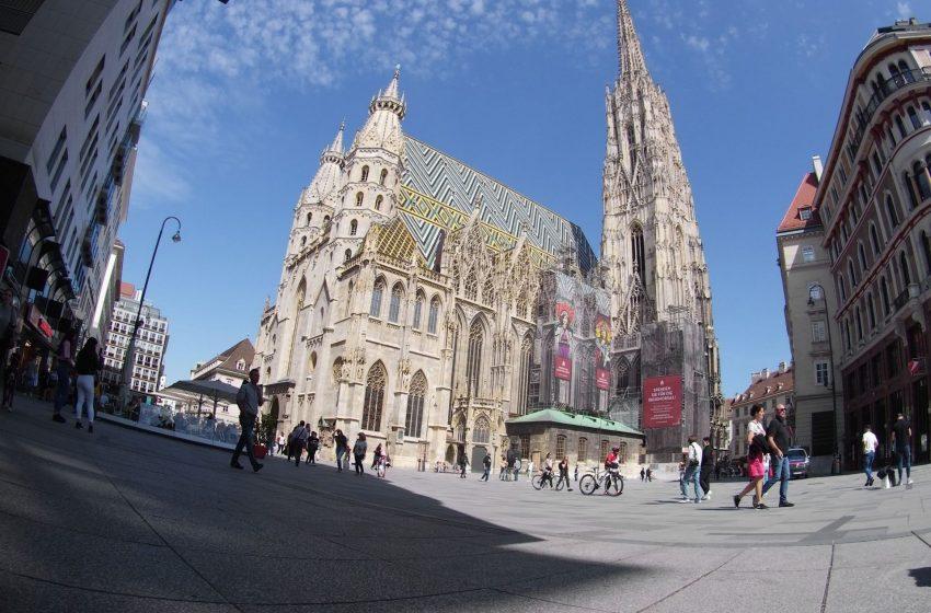 Собор Святого Стефана, Вена, Австрия. Июнь, 2020